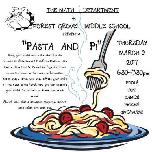 Math Dept. Parent Nite March 9th