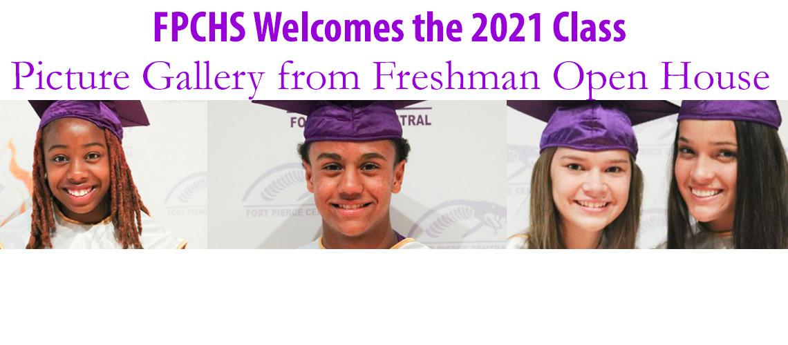 Freshmen Open House for Class of 2021