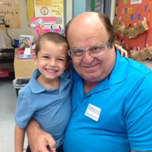 james and his grandpa