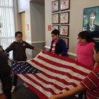 Gaines Academy 5th Grade Flag Leadership