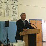 Superintendent Guest Speaker for 8th Grade Awards