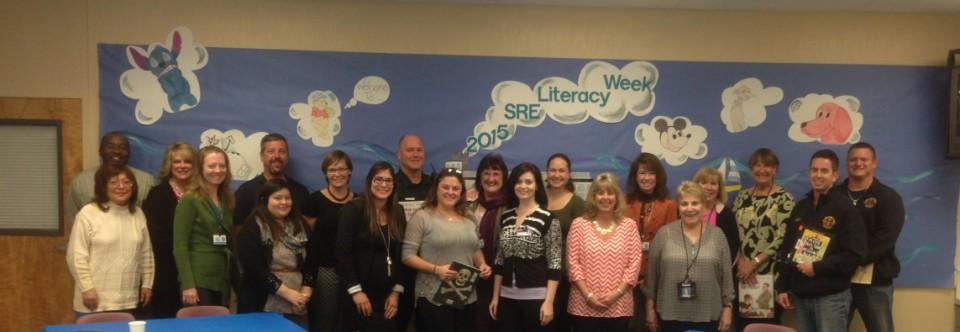 Community Guest Readers for Literacy Week 2015