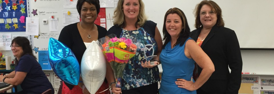 Savanna Ridge Staff Recognition Awarded for the 2015-2016 School Year!