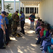 VPK Students enjoy visit from St. Lucie County Fire District