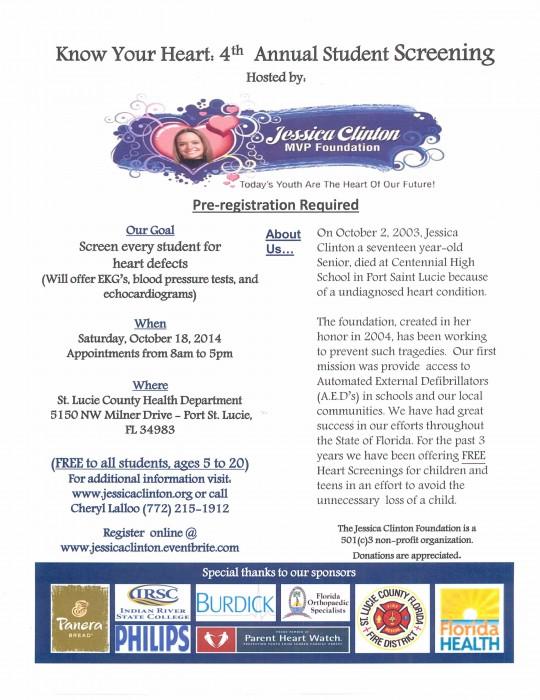 Jessica Clinton MVP Foundation Flyer