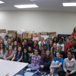 NJHS food drive exceeds goal
