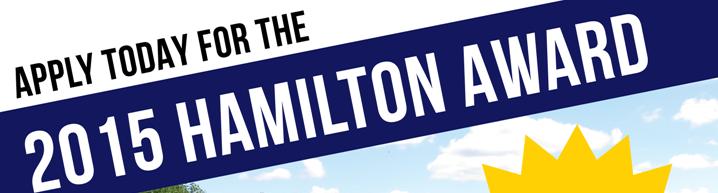 2015 Hamilton Award