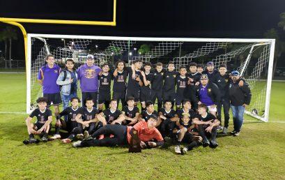 Boy's Soccer Team Wins District Championship