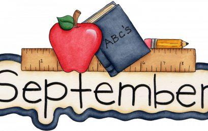 September Calendar and Newsletter