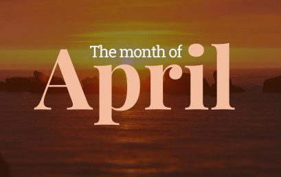 April Calendar and Newsletter