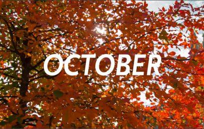 October Newsletter and Calendar