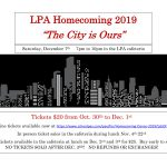 2019 Homecoming Information