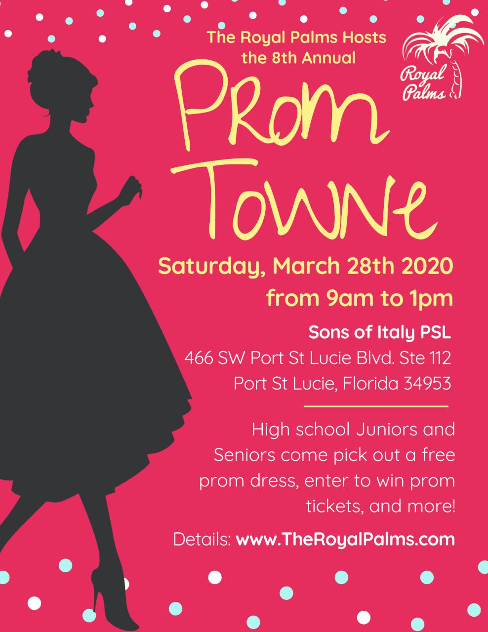 Royal Palms Prom Towne