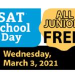 SAT School Day – March 3