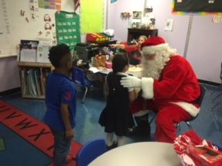 Santa at LWP