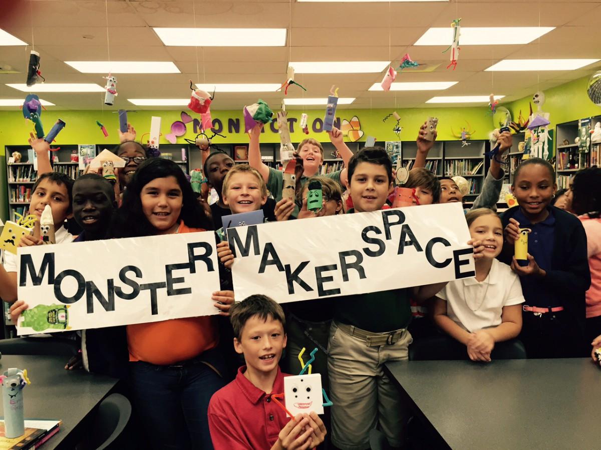 Students and Teachers Prepare for Book Fair