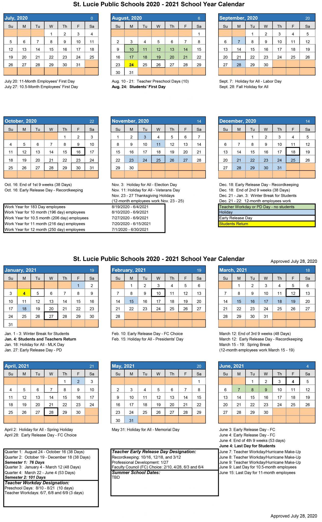 Calendar – Northport K 8